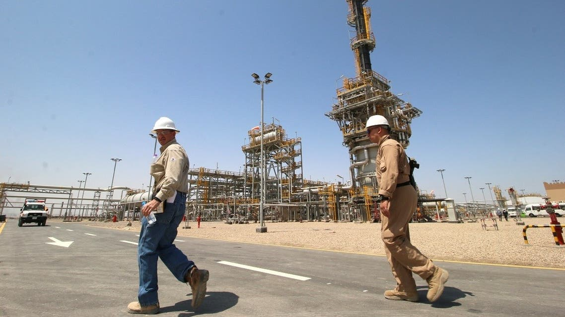 File photo of West Qurna-1 oilfield, which is operated by ExxonMobil, near Basra, Iraq. (Reuters)