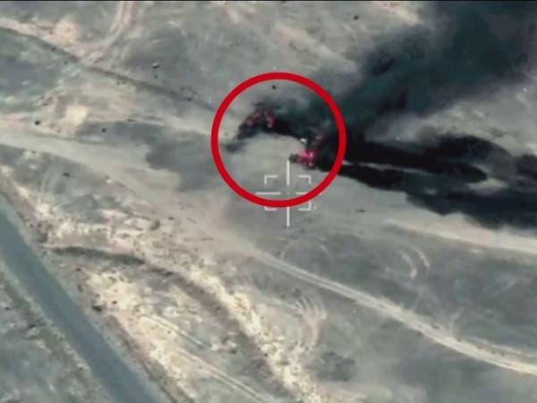 مشاهد جديدة من صنعاء لعمليات التحالف ضد المواقع العسكرية للحوثيين