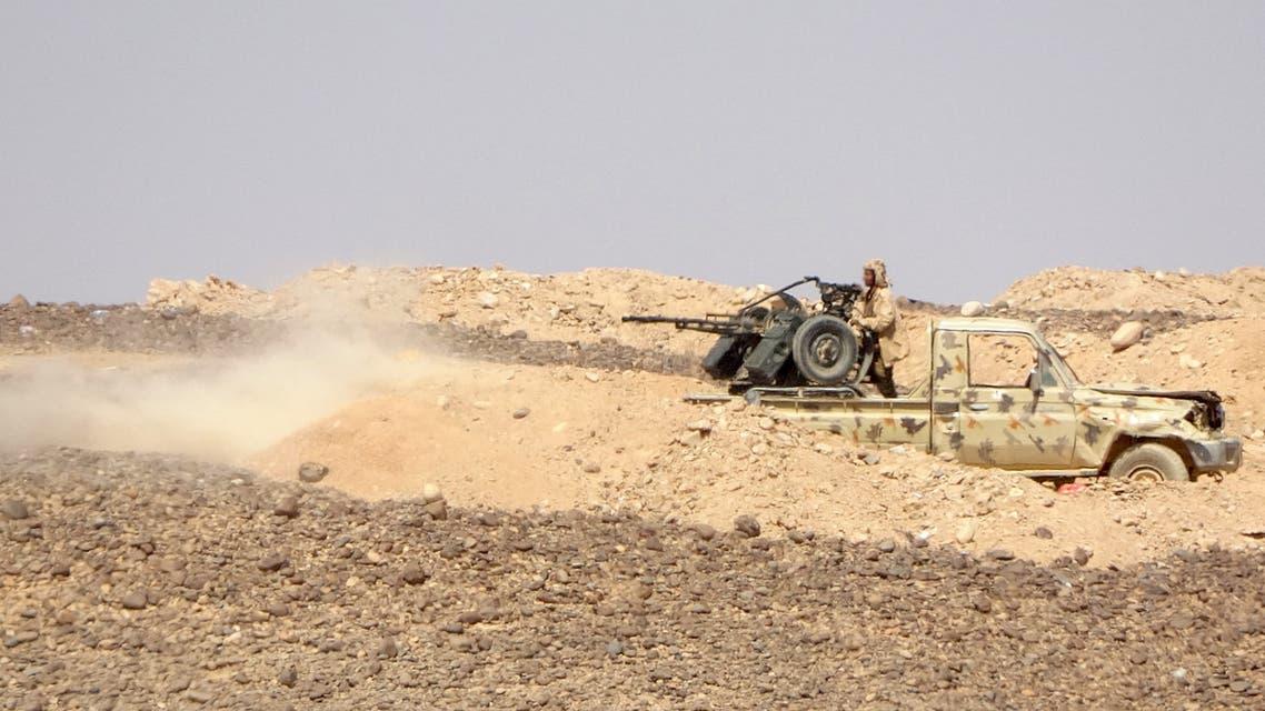 قوات من الجيش اليمني في مأرب (فرانس برس)