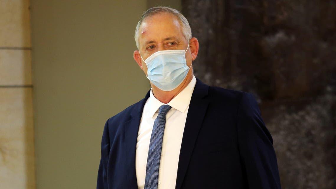 اسرائیلی وزیردفاع بینی گینٹز