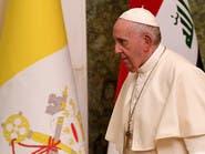 وجع العراق يئن.. صورة مع البابا وهاشتاغ