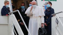 Pope Francis leaves Rome for four-day Iraq visit