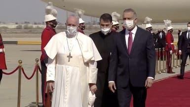البابا يغادر إلى العراق.. في ظروف أمنية دقيقة