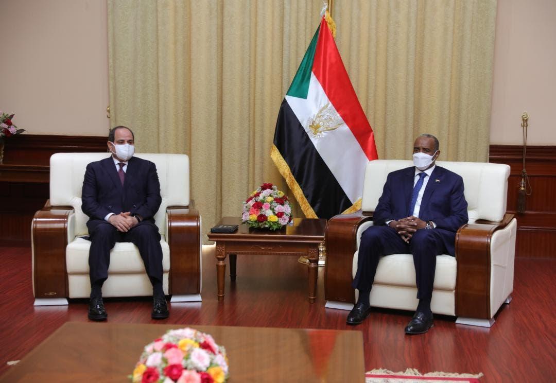 السيسي والبرهان في السودان