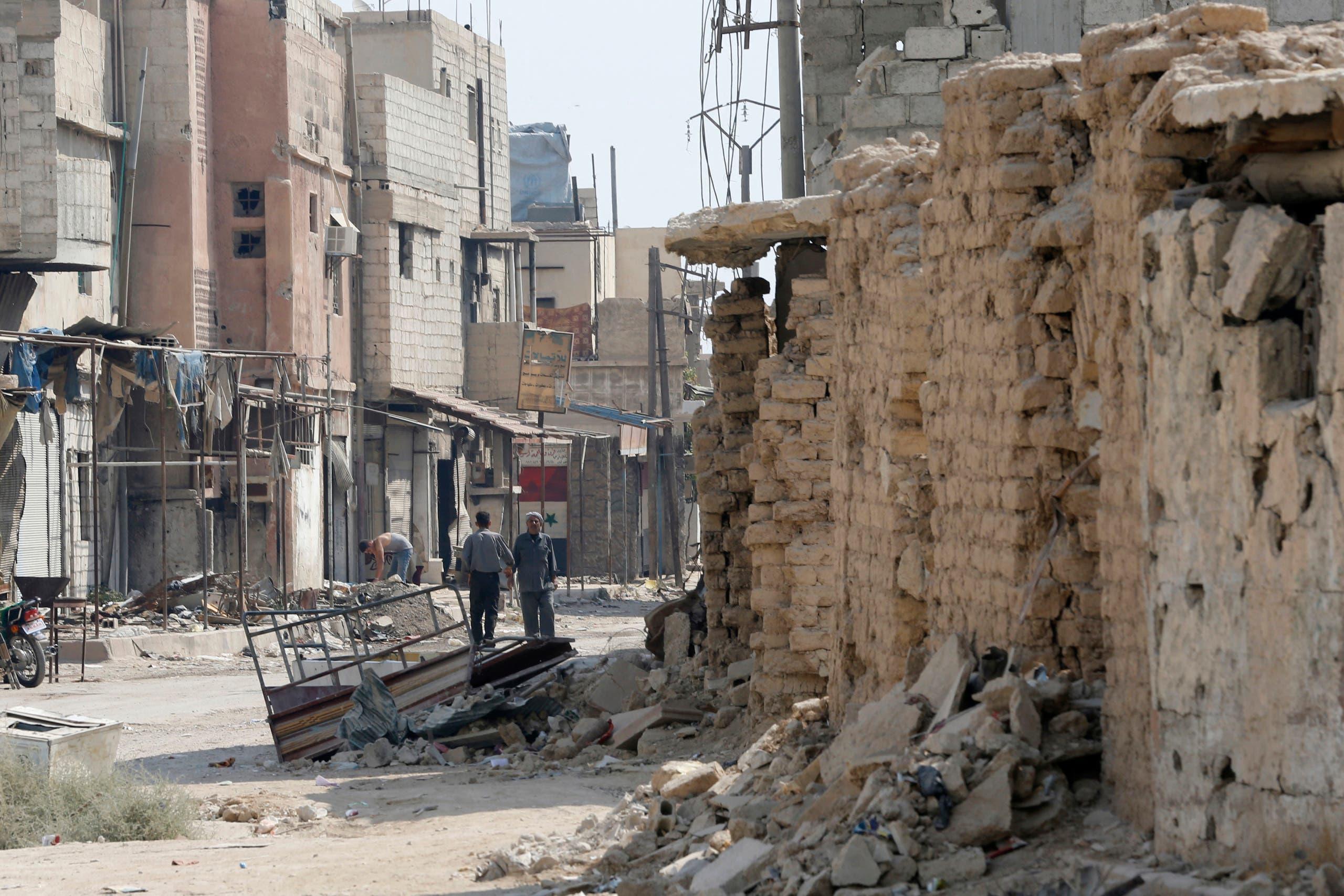 من الغوطة الشرقية في سوريا (فرانس برس)