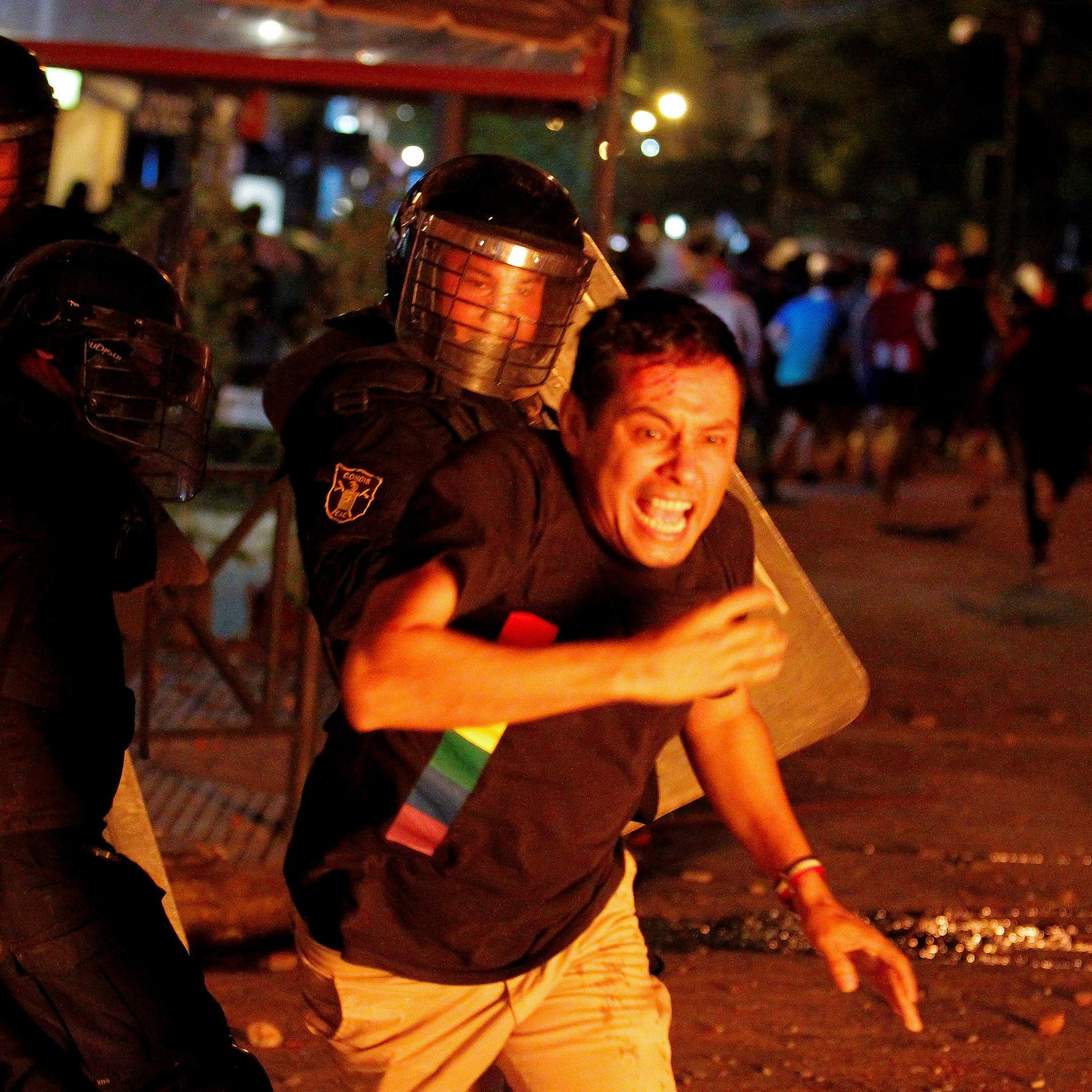 Paraguay protesters clash with police over government handling of COVID-19