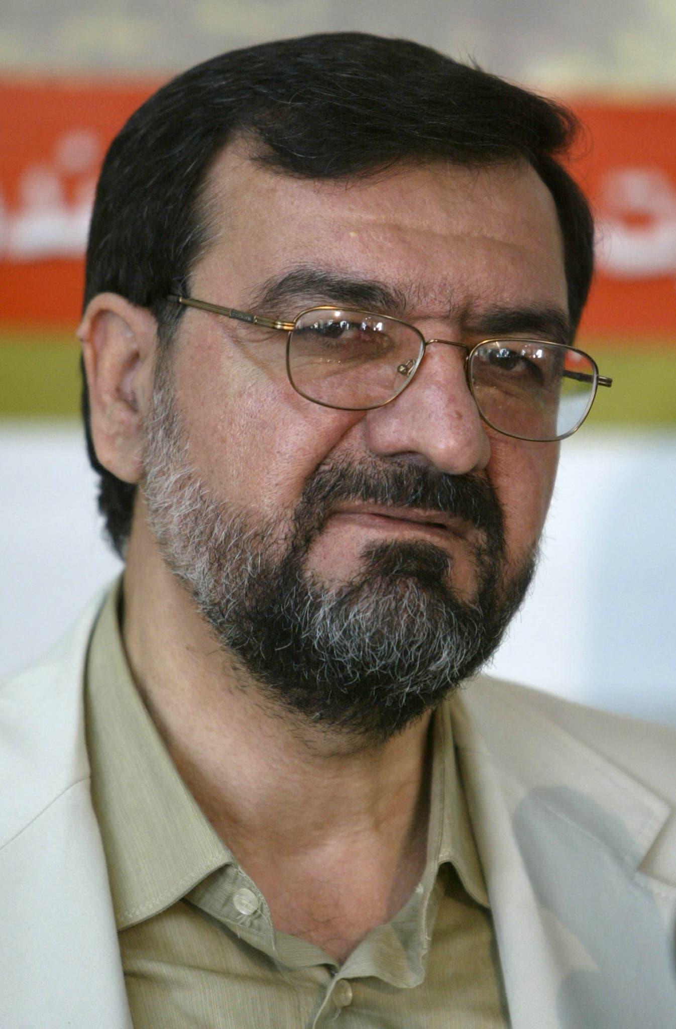 سكرتير تشخيص مصلحة النظام في إيران محسن رضائي (أرشيفية- فرانس برس)