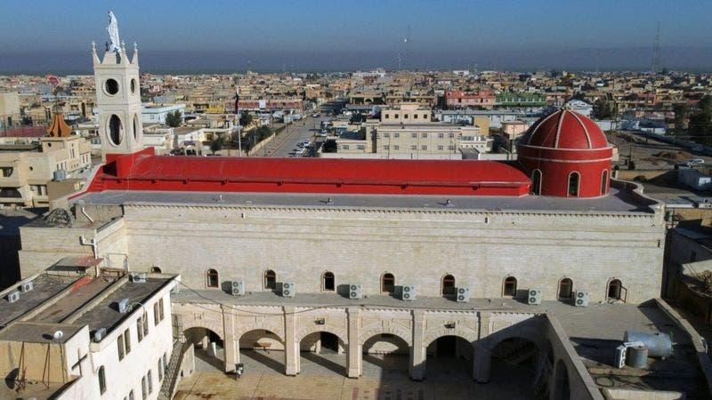 کلیسای تاریخی در شهرک قره قوش