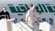 تصویری؛ پاپ واتیکان در سومین روز از سفر به عراق وارد اربیل شد