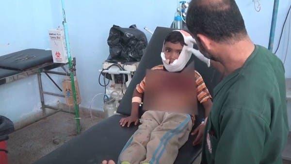 شاهد.. إصابة طفل برصاص قناص حوثي بالحديدة