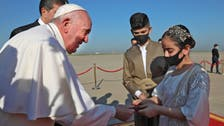 Pope Francis visits Iraq's war-ravaged north on last day of tour