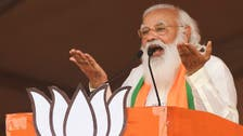 Huge crowd fetes India PM Narendra Modi at rally for key state poll