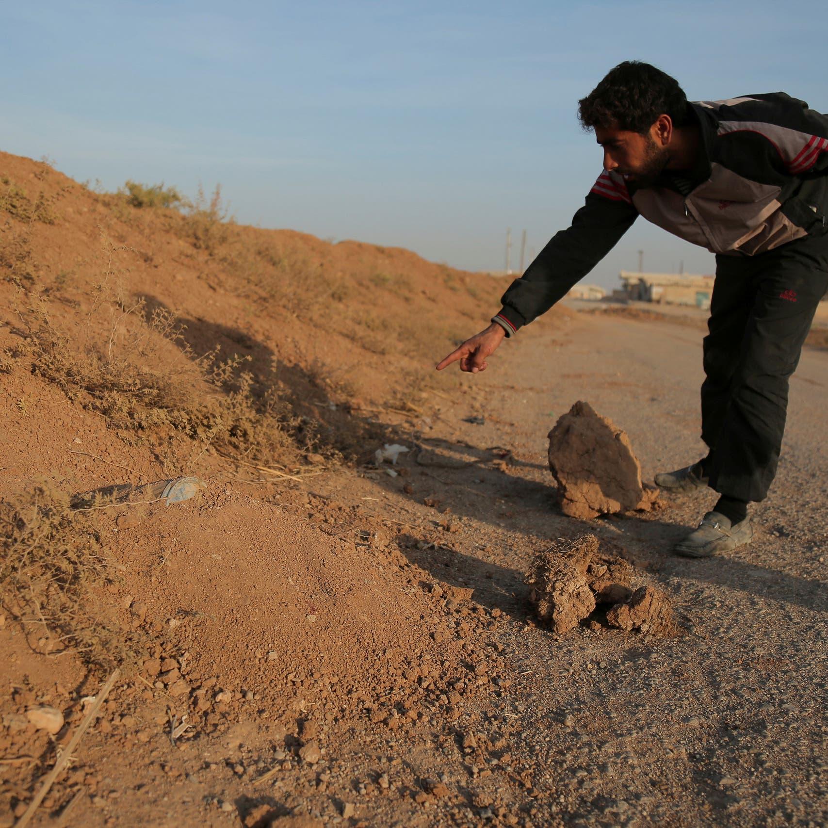 مقتل عنصرين من ميليشيات إيران بانفجار لغم في بادية الرقة