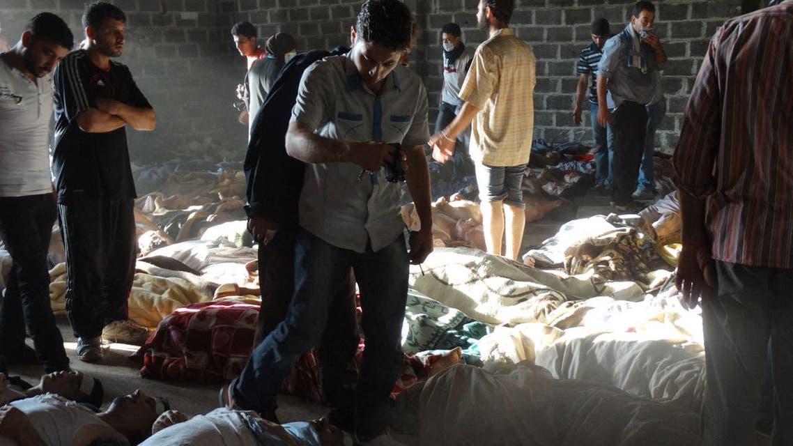 من الغوطة الشرقية في أغسطس 2013 (فرانس برس)