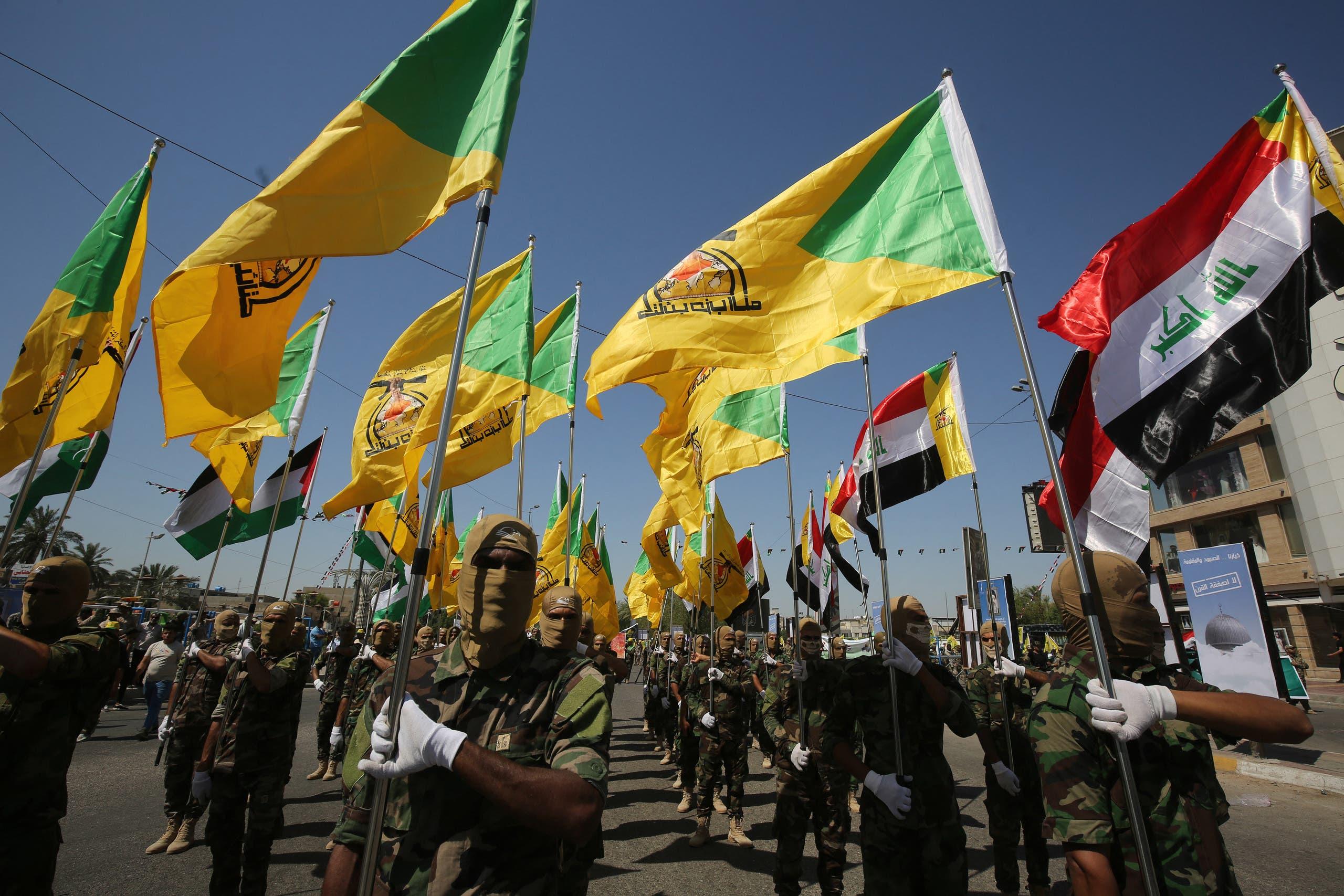 عناصر من كتائب حزب الله العراقية (أرشيفية)
