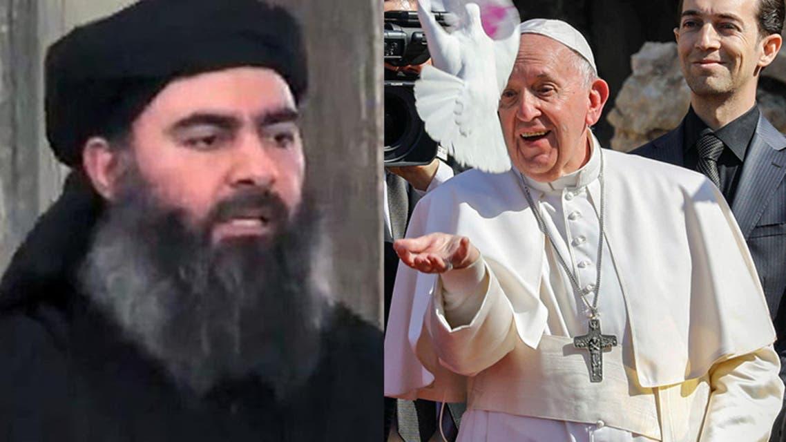البابا والبغدادي