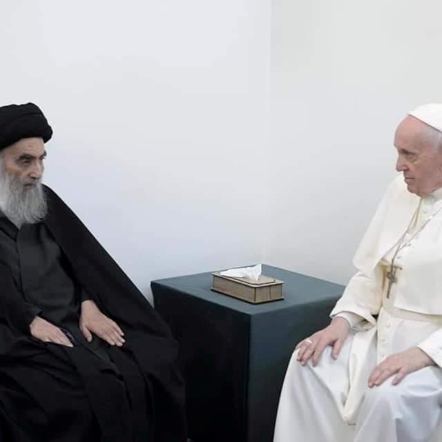 من الفاتيكان إلى النجف.. زيارة البابا أزعجت طهران