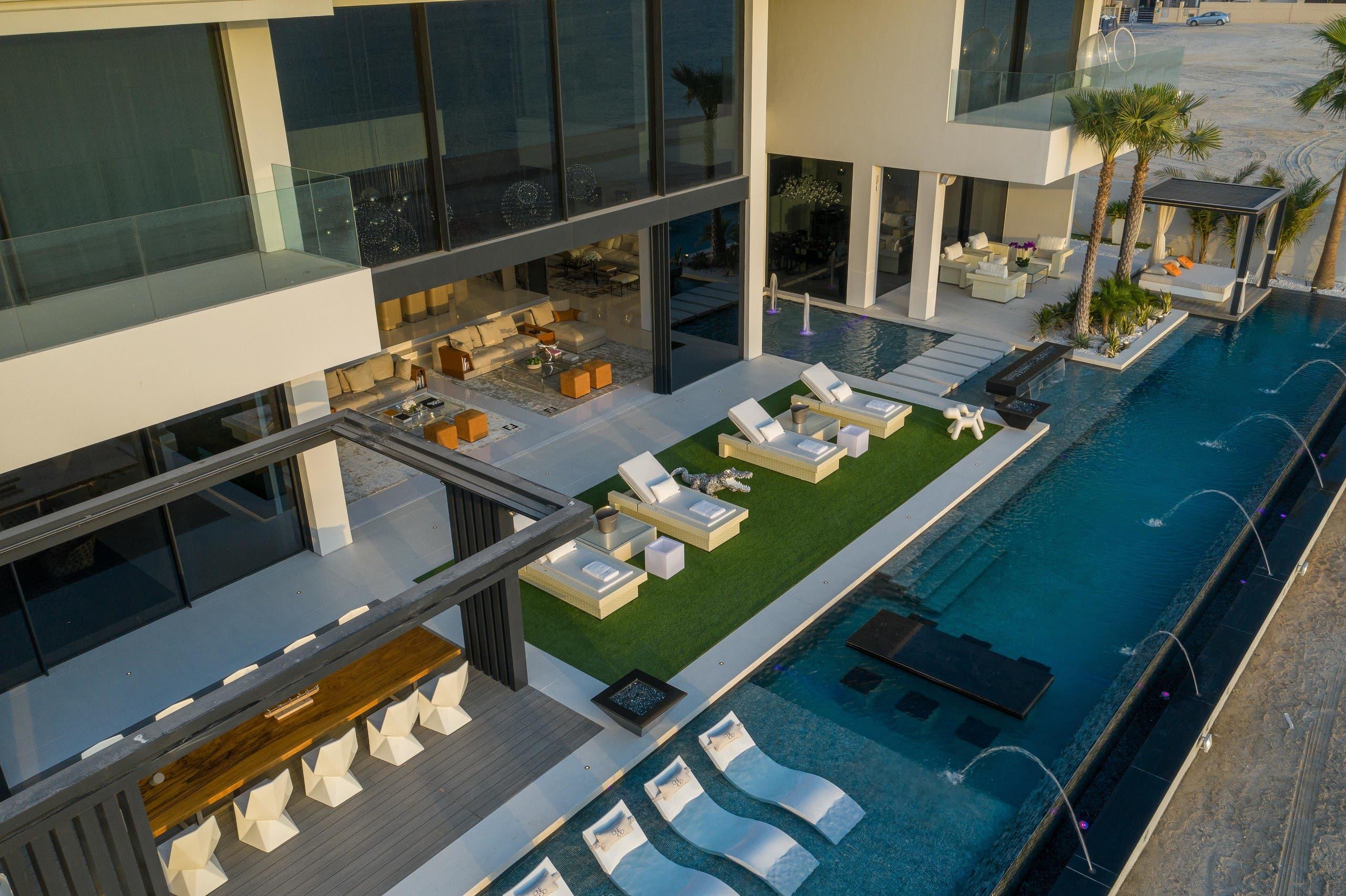 One100Palm mansion