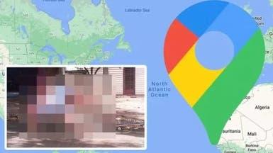 خرائط غوغل تفضح المستور.. صورة غير متوقعة لفتاة بالشارع!