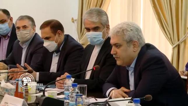 نائب الرئيس الإيراني لدى زيارته دمشق الأسبوع الماضي