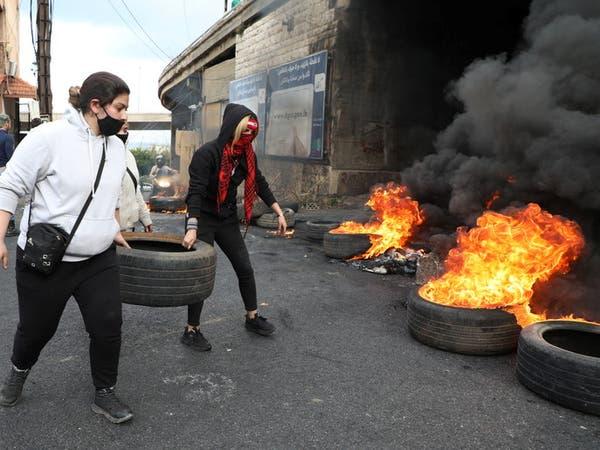 عون يطالب الجيش بفتح الطرقات التي يقفلها المحتجون
