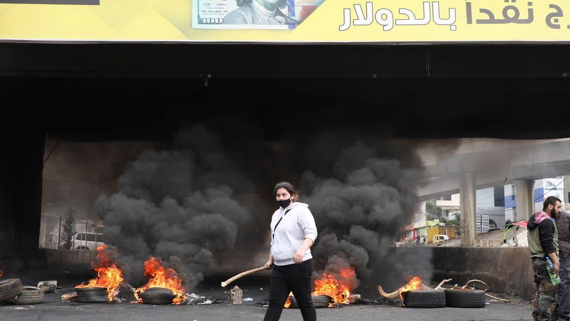 من تظاهرات لبنان - اليوم