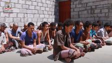 حوثیوں کی طرف سے جنگ کے لیے بھرتی کیے 21 یمنی بچے ریڈ کراس کے حوالے