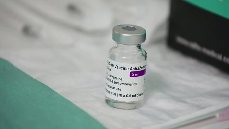 A file photo shows Aastrazeneca COVID-19 vaccine vial. (Reuters)