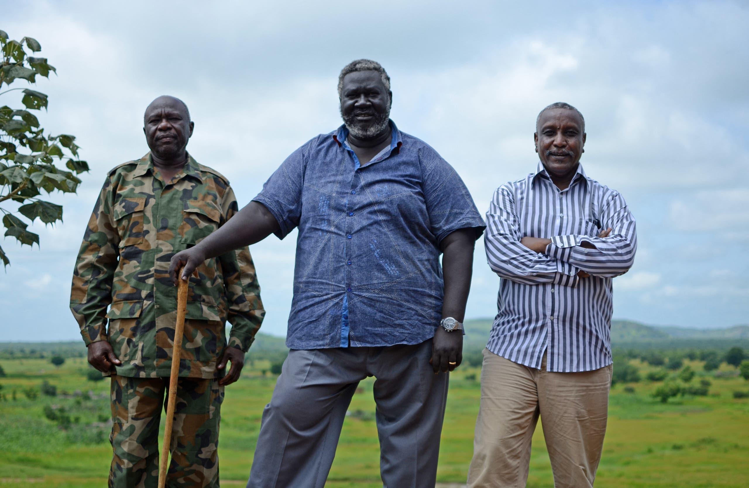 """قادة """"الحركة الشعبية لتحرير السودان – شمال"""" (أرشيفية*)"""