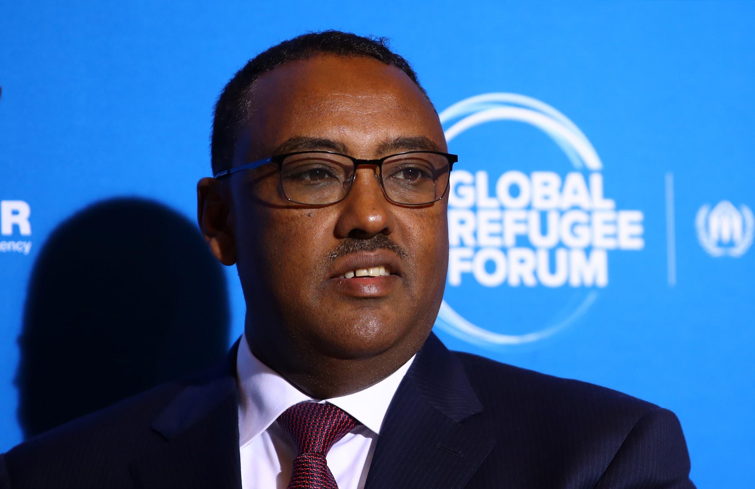 نائب الرئيس الإثيوبي ديميكي ميكونين (أرشيفية)