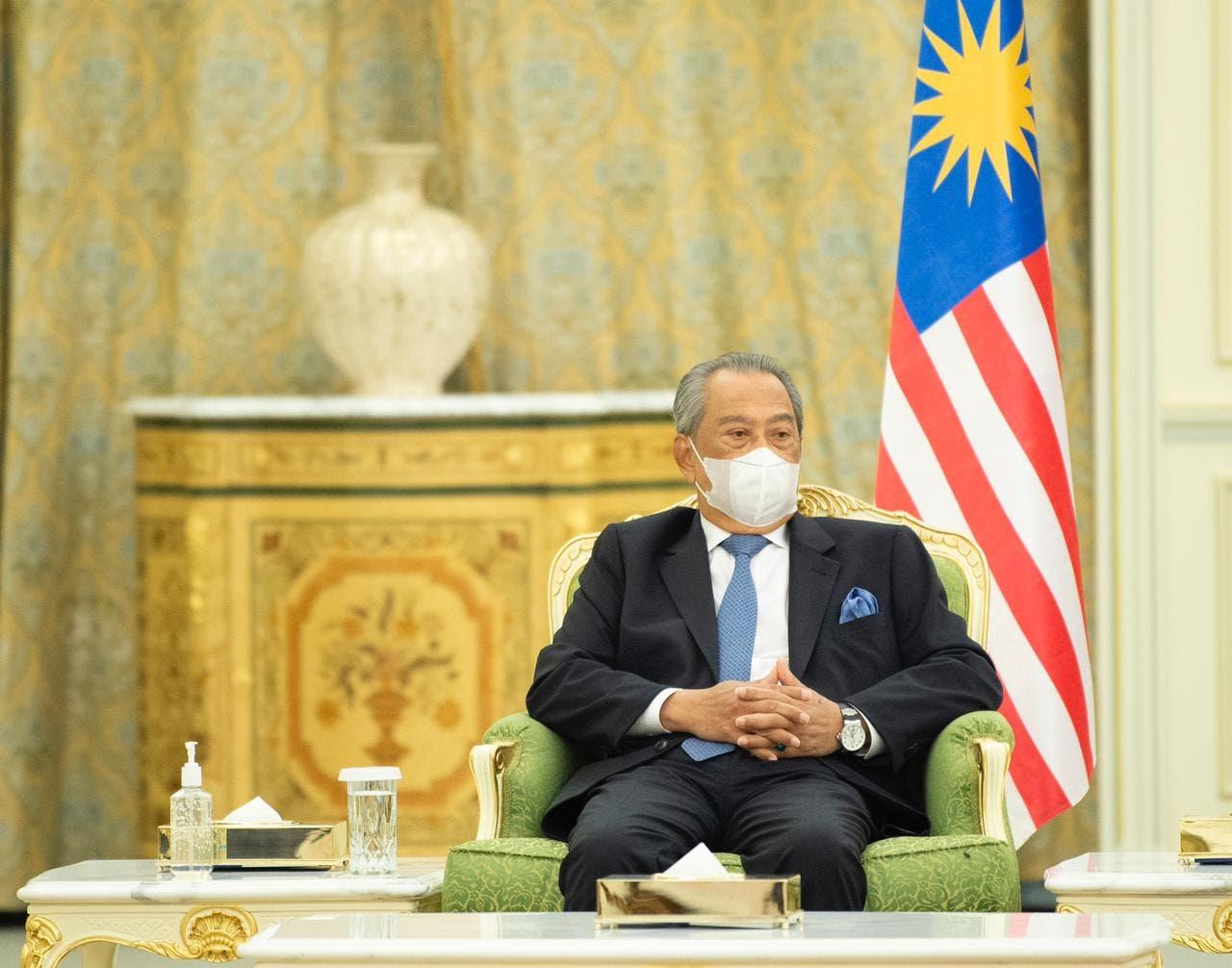Prime Minister of Malaysia Muhyiddin Yassin. (SPA)