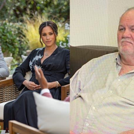 والد ميغان يخرج عن صمته: اعتذرت لها 100 مرة