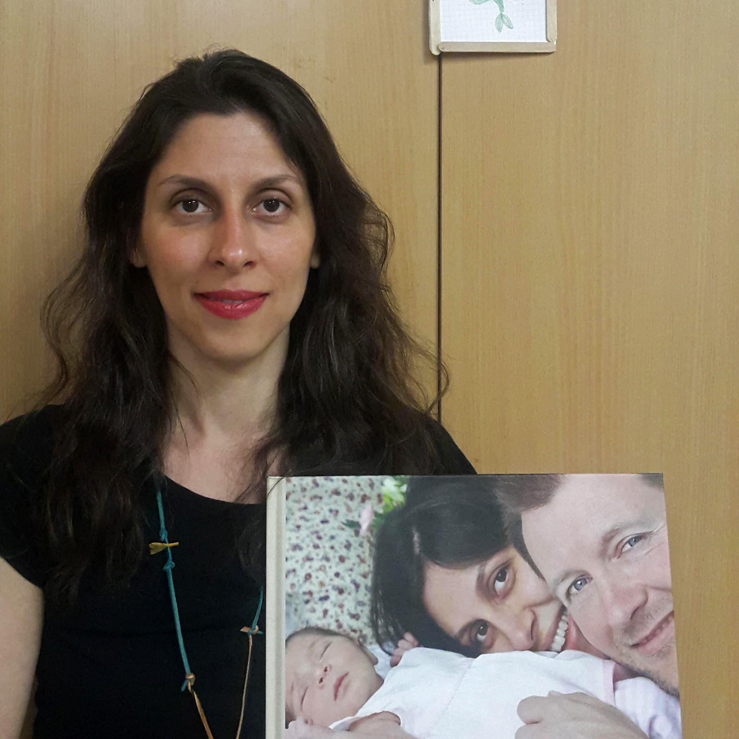 زوج محتجزة بريطانية: نازنين أصبحت ورقة مساومة بيد إيران