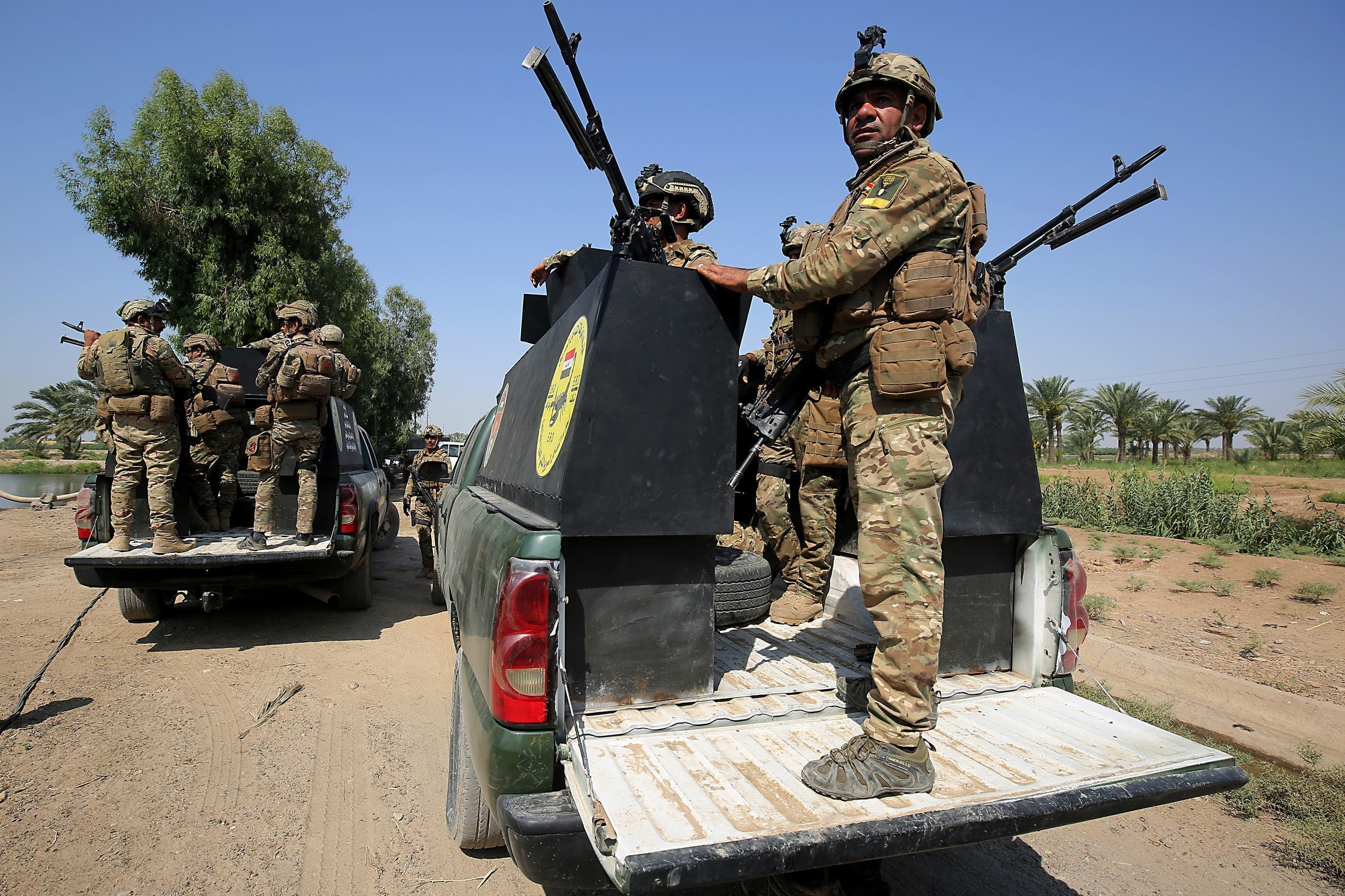 نیروهای ارتش عراق