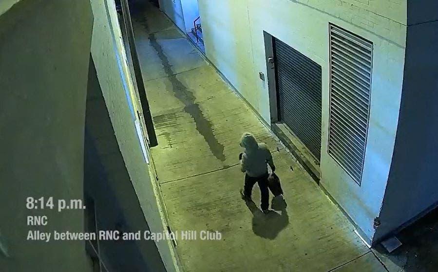 امریکی کانگریس کے قریب بم نصب کرنے والا مشتبہ شخص