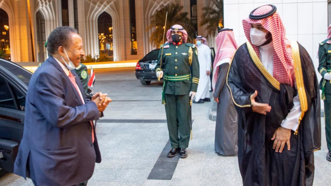 الأمير محمد بن سلمان وحمدوك
