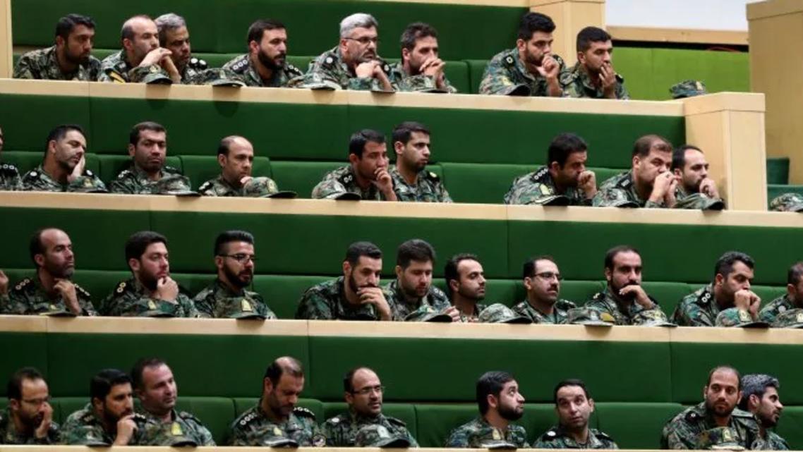 عناصر من الحرس الثوري لإيراني