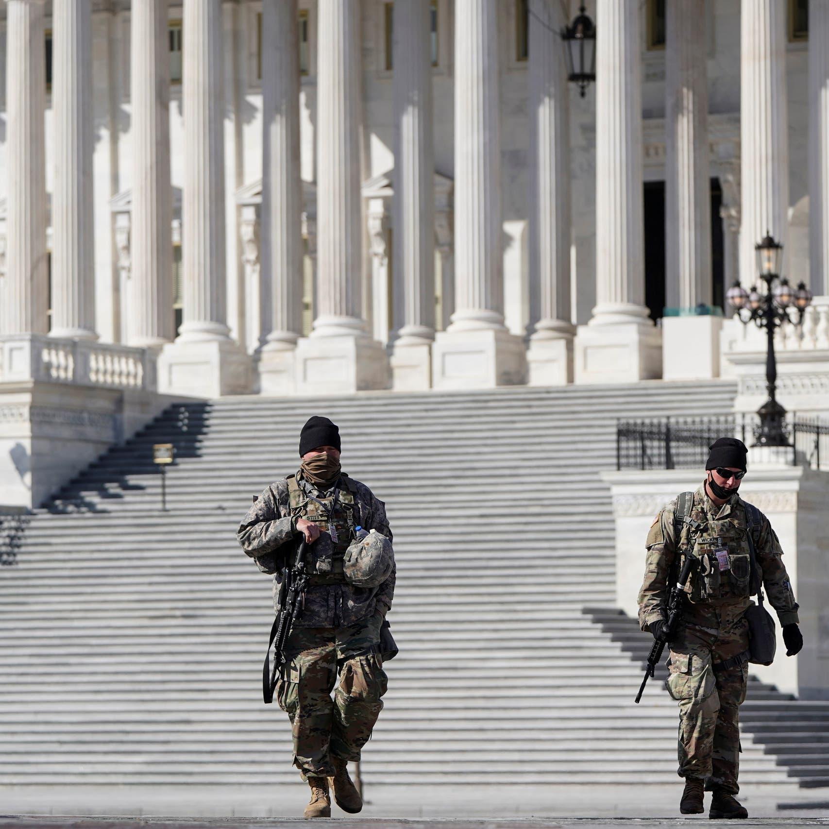 اقتحام الكونغرس مجدداً.. 2300 من الحرس الوطني باقون