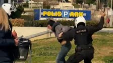 Greek police officer suspended after man beaten during COVID-19 checks