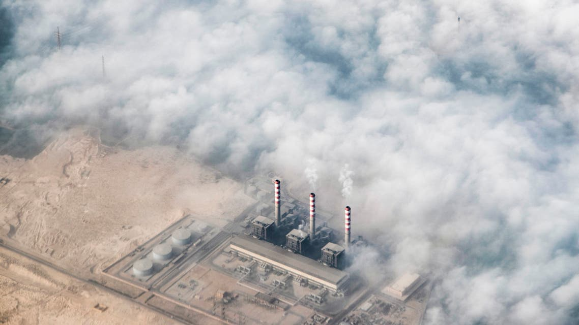 This picture taken on January 6, 2021 shows an aerial view of a factory on the southern outskirts of Egypt's capital Cairo. (File photo: AFP)