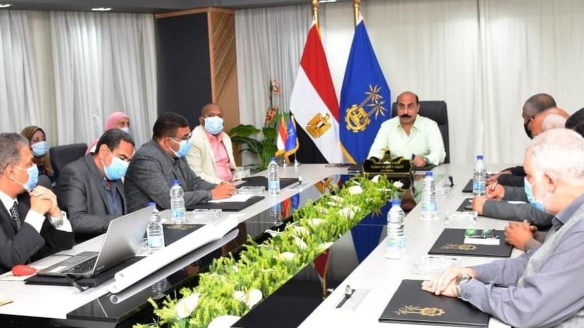 اجتماع مصري حول خط سكك حديدية يربط مصر والسودان