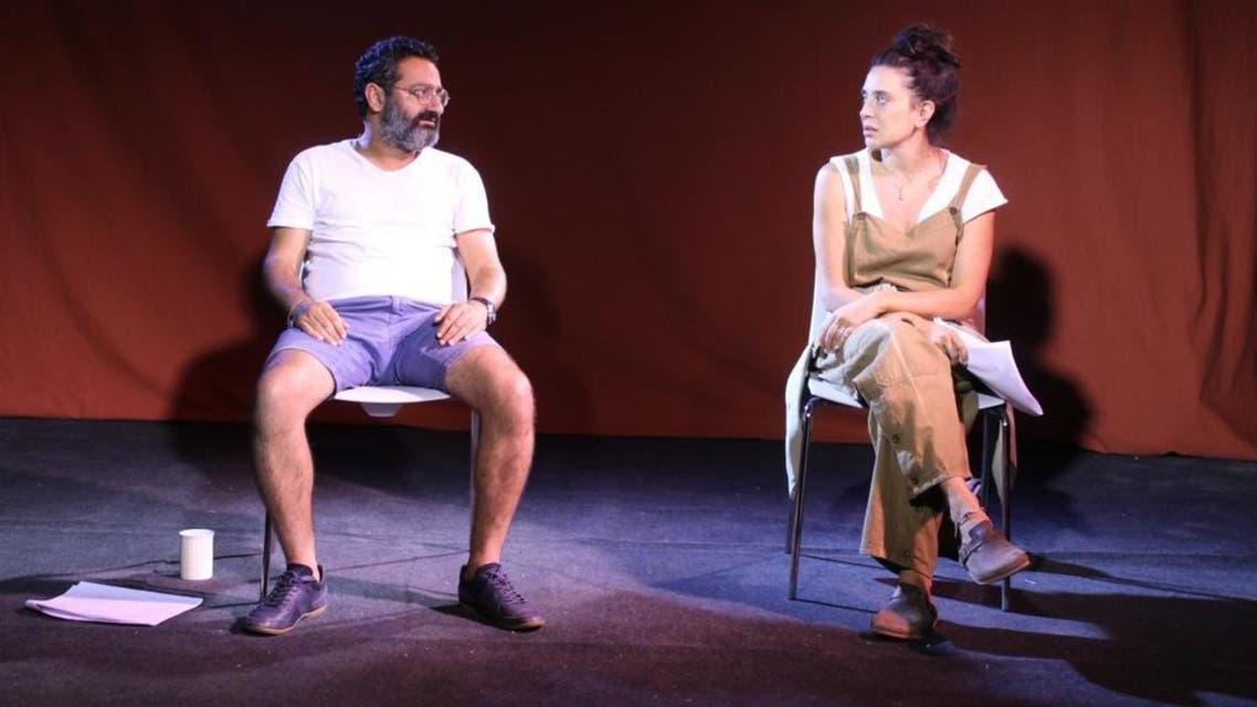 Georges Khabbaz and Nadine Labaki. Image courtesy Agatha Ezzedine