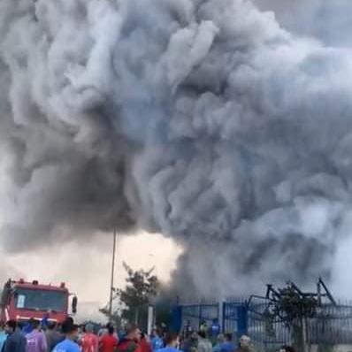 مصرع 20 وإصابة 24 آخرين في حريق هائل بمصنعمصري