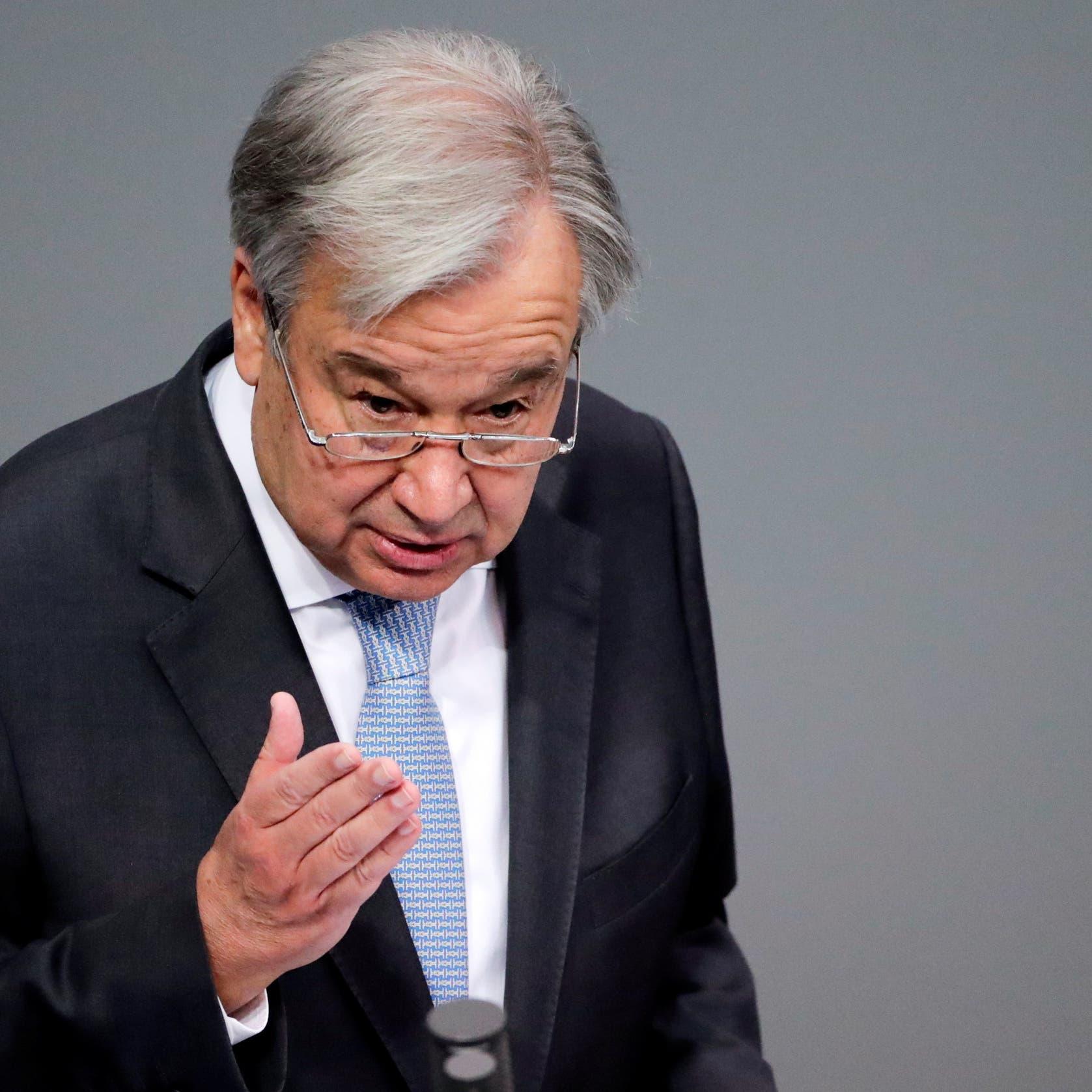UN Secretary-General urges Taliban restraint, is concerned about women, girls