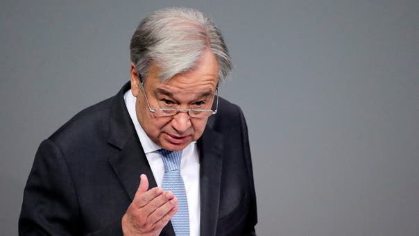 UN chief Guterres says hostilities in Gaza, Israel 'utterly appalling'