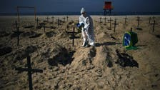 Brazil reports over 2,000 coronavirus deaths in 24 hours