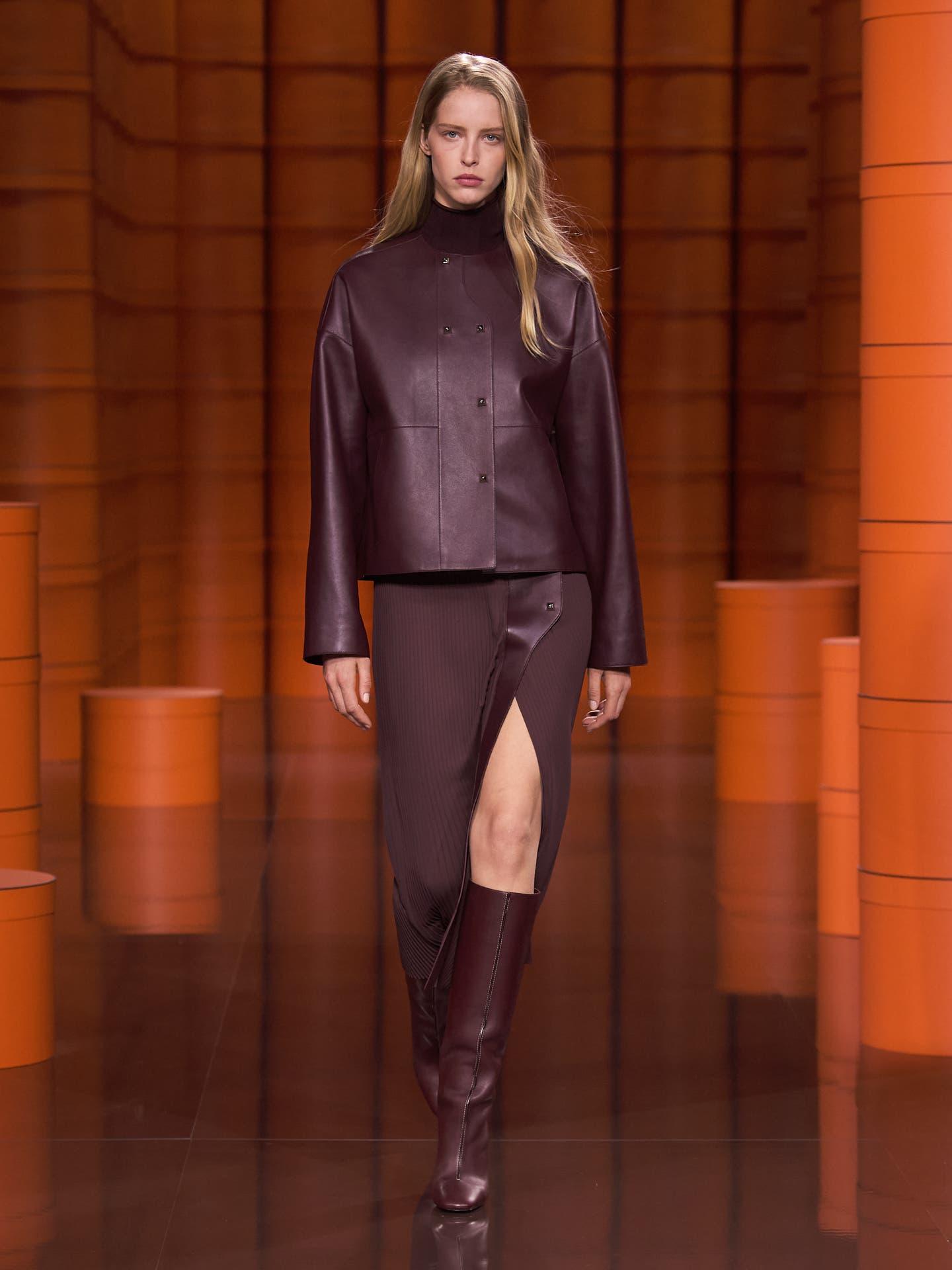 مجموعهای از لباسهای جدید برند «هرمس» برای زمستان آینده
