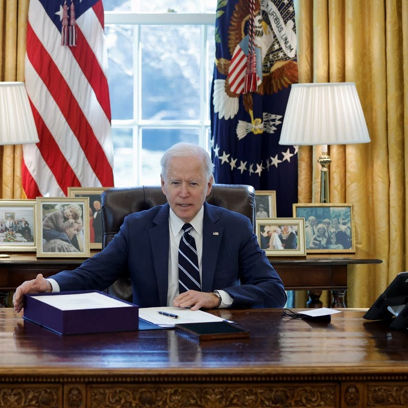 US President Biden signs $1.9 trillion stimulus package to help COVID-19 recovery