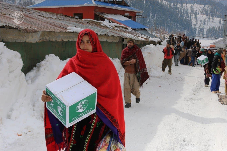 شاہ سلمان امداد مرکز کا مختلف ممالک میں غذائی امداد پیش کرنے میں اہم کردار