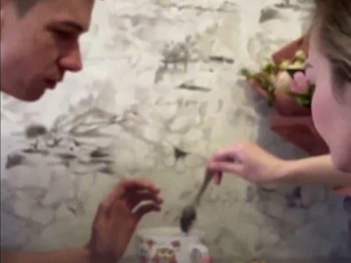 عاشقی در زنجیر: داستان زوج اوکراینی